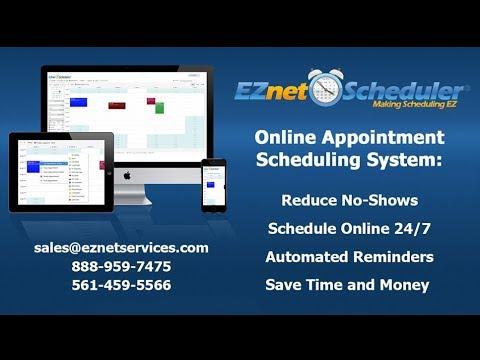 EZnet Scheduler - Online Appointment Scheduling Software