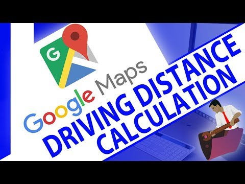 Calculate Driving Distance (and time) between Two Addresses ...