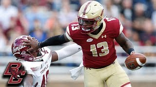 BC's Explosive Offense Will Pack A Punch vs. Clemson
