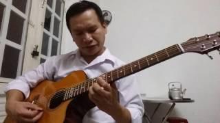 Besame Mucho nhạc nước ngoài. guitar Nguyễn Hữu Trúc (1)