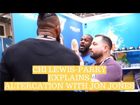 Chi-Lewis Parry: Jon Jones 'wasn't happy to fight me in the street'