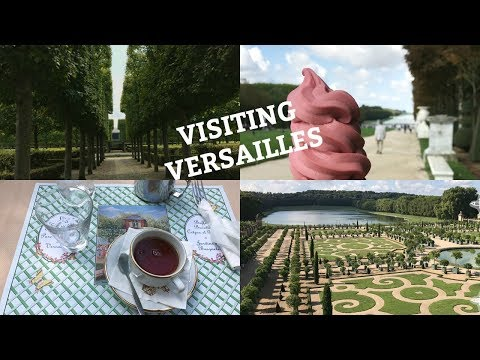 VISITING THE PALACE OF VERSAILLES!!