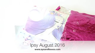 Ipsy Unboxing August 2016