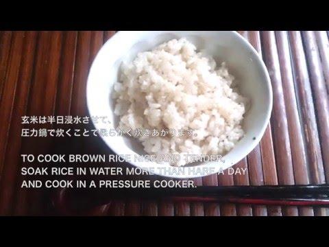 玄米・Brown Rice (Whole Grain Rice)