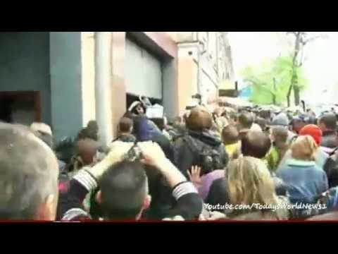 Odessa deaths spark Ukraine protests