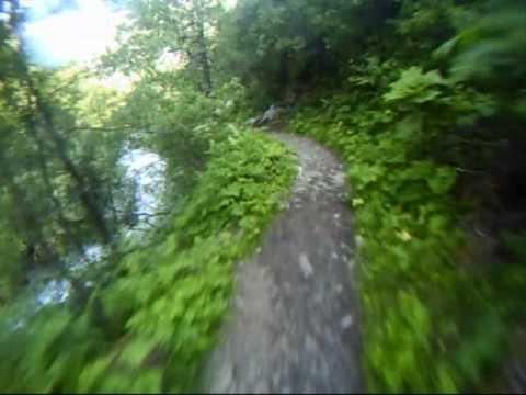 Juneau Alaska Mountain Bike Trail Ride