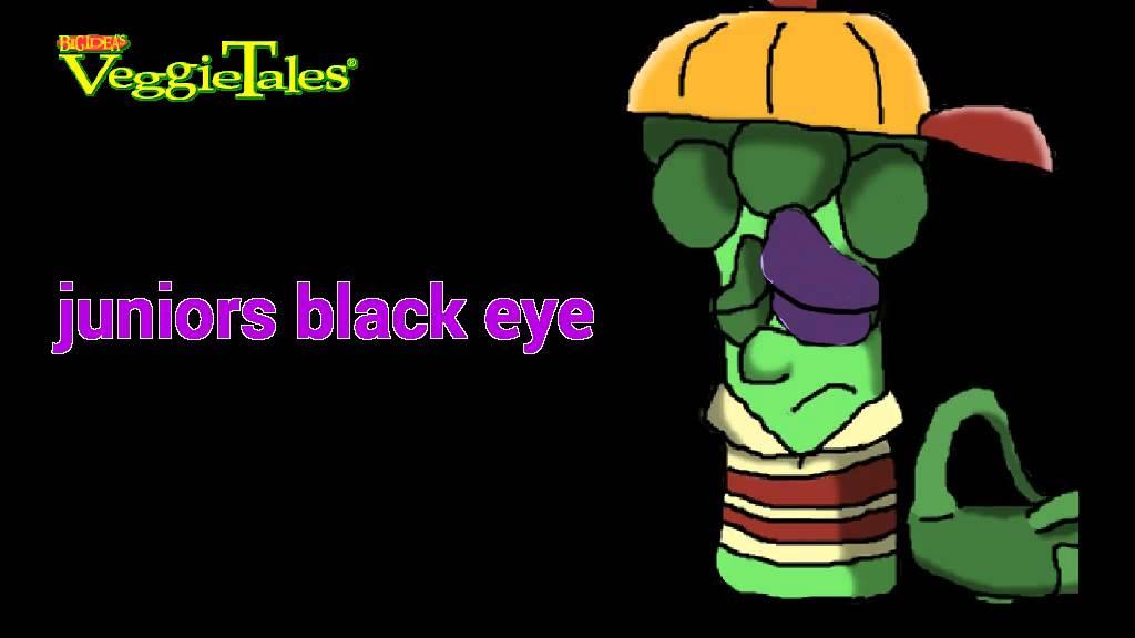 veggietales juniors black eye youtube