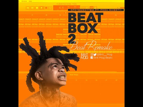 SPOTEMGOTTEM Feat. Pooh Shiesty – Beatbox 2 instrumental (prod.Brit Mog Beats)