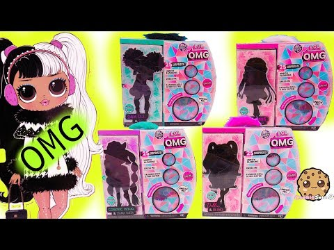 omg-big-sisters-winter-disco-new-family-fashion-style-dolls-+-blind-bags-video