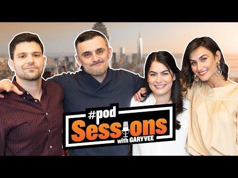 Jerry Ferrara, Danielle Snyder, & Liz Eswein  2018 Super Bowl, Tom Brady, & Voice  podSessions 3