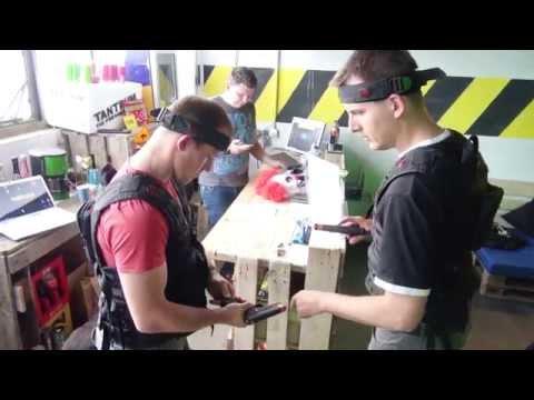 Lasergame Berlin besucht die Laserfactory in Jena