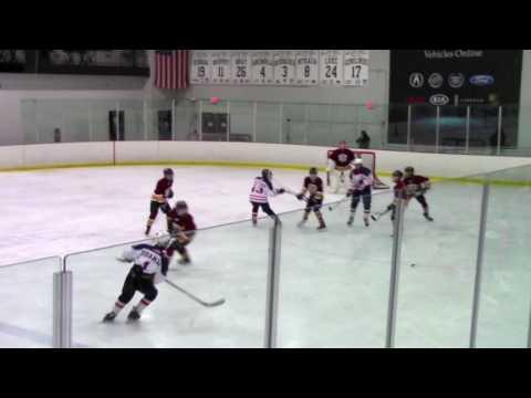 03-12-17 Glen Ellyn Admirals NWHL Bantam Red vs Hoffman Estates Wolf Pack Bantam Black
