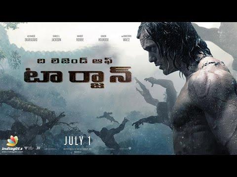 The Legend of Tarzan Back To Back Trailers   Telugu   Alexandar Skarsgard   Margot Robbie   Waltz