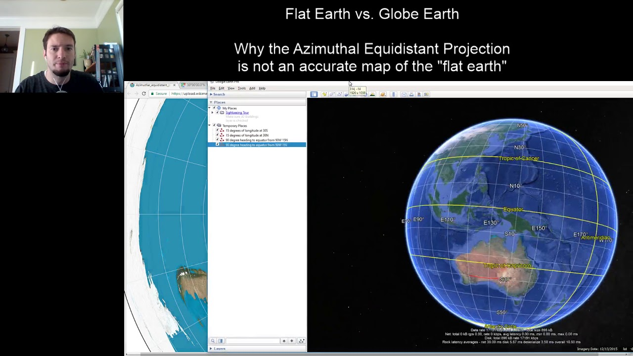Flat earth vs globe earth azimuthal equidistant projection is flat earth vs globe earth azimuthal equidistant projection is not an accurate map of the earth gumiabroncs Image collections