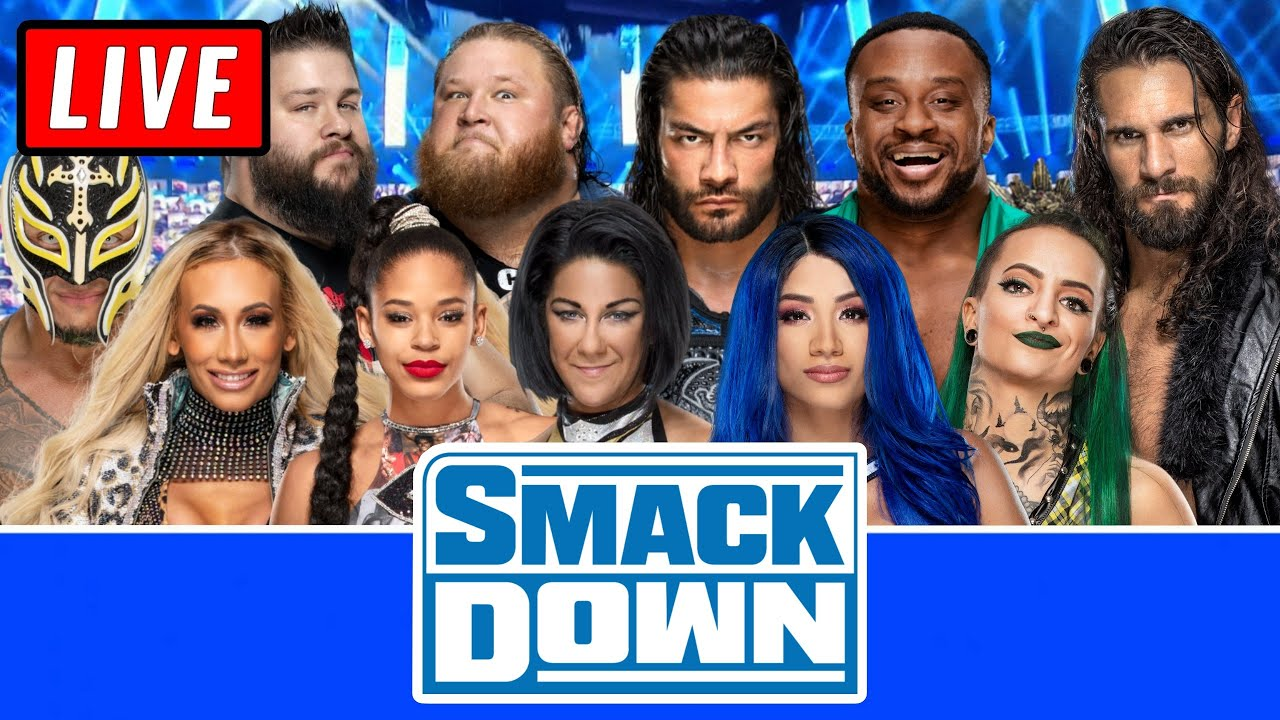Download 🔴 WWE Smackdown Live Stream 8th January 2021 - Full Show Live Reactions