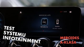 2018 Mercedes-Benz A-Klasa: Test systemu infotainment - Jazdy Próbne