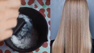 Desmaia cabelo na hora – O melhor alisamento natural com apenas 2 produtos, hidratação profunda