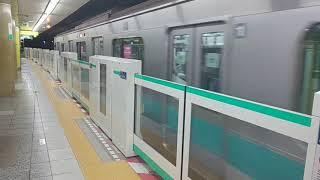【小田急車両】千代田線 回送電車 日比谷駅通過