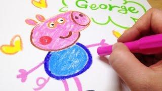 페파피그 -  저지 그리기 방법 Geroge drawing of Peppa Pig [LimeTube]