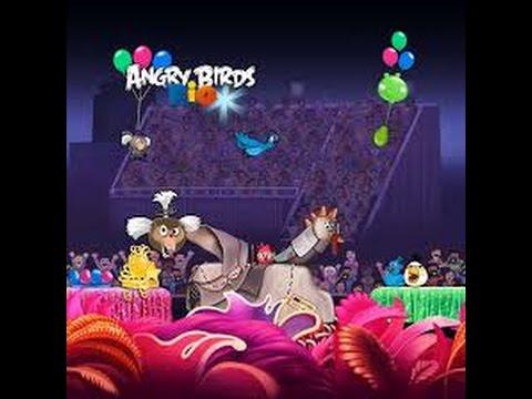 Angry Birds Rio Federn
