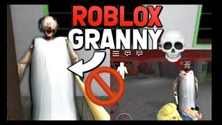 ESCAPING FROM GRANNY ON ROBLOX | Playing Roblox