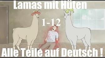 Alle Lamas mit Hüten Teile (1-12) -BrosTV