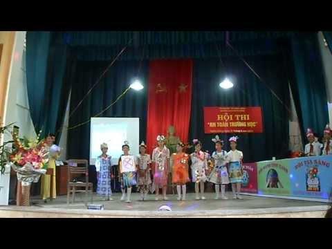 Vũ điệu thời trang 3T (Trường THCS Nghĩa Đồng)