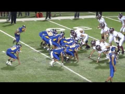 #8 Derly Carrizales Quarterback Bruni High School Senior Season Highlights C/O 2014
