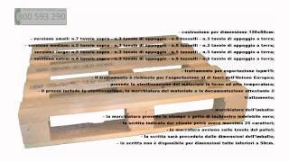 Pallet in legno a 4 vie Video