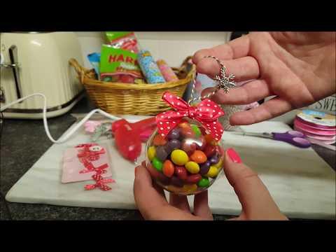 Christmas Idea - Sweet Baubles & Socks in a Bauble :-)