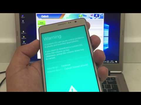 How to flash stock firmware in Samsung galaxy on5/on5pro