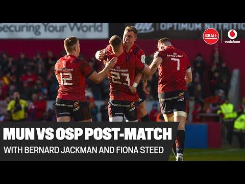 Munster vs Ospreys post-match analysis | Bernard Jackman and Fiona Steed