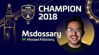 FIFA 18 FIFA eWorld Cup Grand Final London 🏆 MSdossary vs StefanoPinna