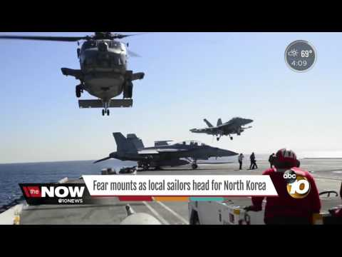 Fears mount as the USS Carl Vinson heads does an about face