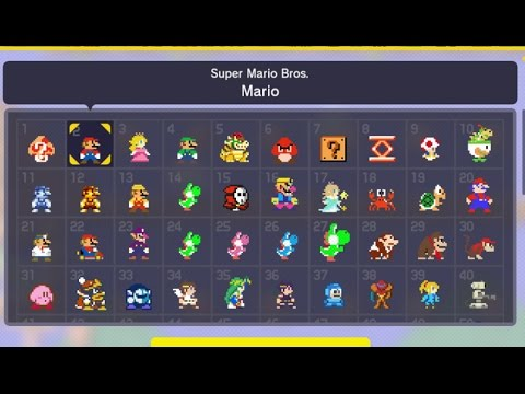 Thumbnail: Super Mario Maker - All Current Costume Mario Outfits Unlocked (Mystery Suits)