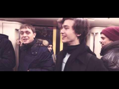Видео: Флешмоб в Московском метро