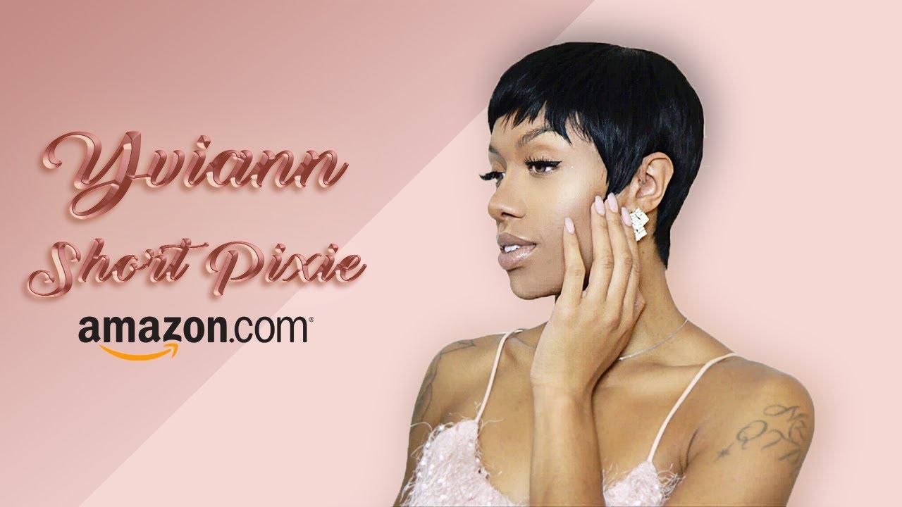Yviann Short Pixie - Human Hair Wig Review