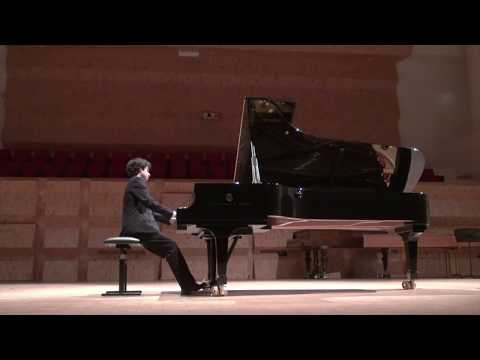 Andrés Martínez Gutiérrez -  R. Schumann Fantasiestücke Op 12 - Traumes Wirren