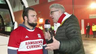 DO IT FOR THE FANS MAN NOT GOOD ENOUGH!!! - Sheffield United 2 Middlesbrough 1