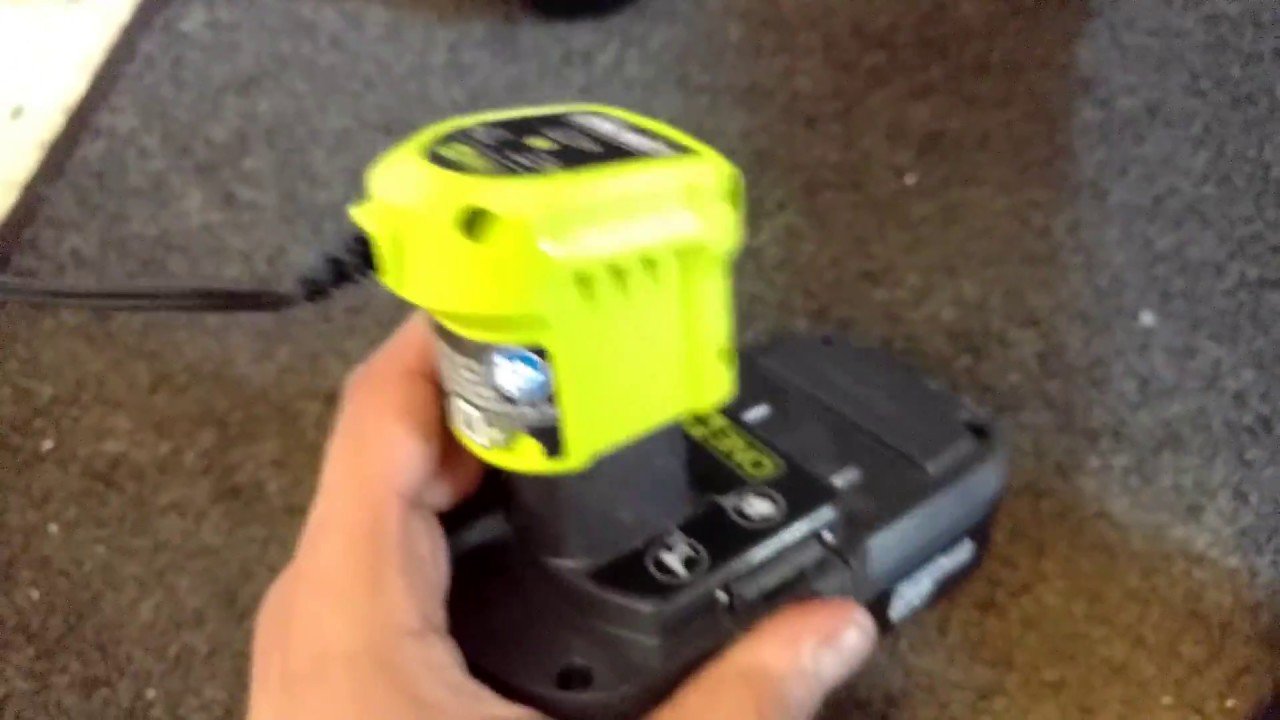 How long does it take to charge a Ryobi battery with a P119 charger
