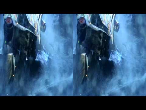 """Pacific Rim 3D """"Battle of Hong Kong"""" for use with Google Cardboard"""