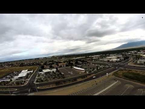 International Hot air balloon fiesta 2015 an drone