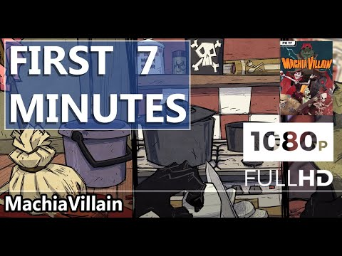 FIRST LOOK | MachiaVillain | HD GAMEPLAY |