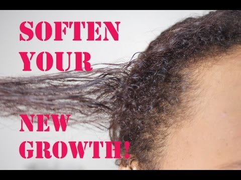 SOFTEN YOUR NEW GROWTH!! (Relaxed/Transitioning/Texlaxed)