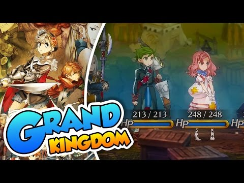 El escuadron Nyanta! - Grand Kingdom (Ps4 60FPS)