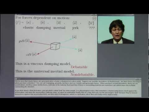 Structural Dynamics. Consistent Mass. Lecture 2, Part A.