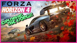 EXPLORING THE WORLD!! | Forza Horizon 4 Demo Gameplay #2 | Xbox one X