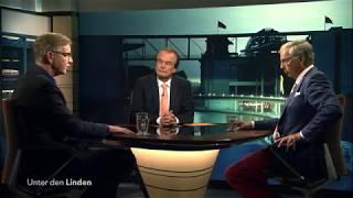 """Unter den Linden: """"Frust, Empörung, Rechtsruck - Was ist jetzt die richtige Politik?"""" vom 02.10.17"""