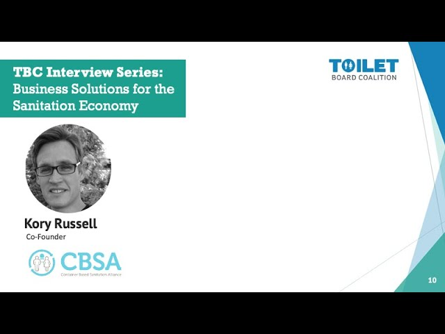 Kory Russell , Co-founder, CBSA