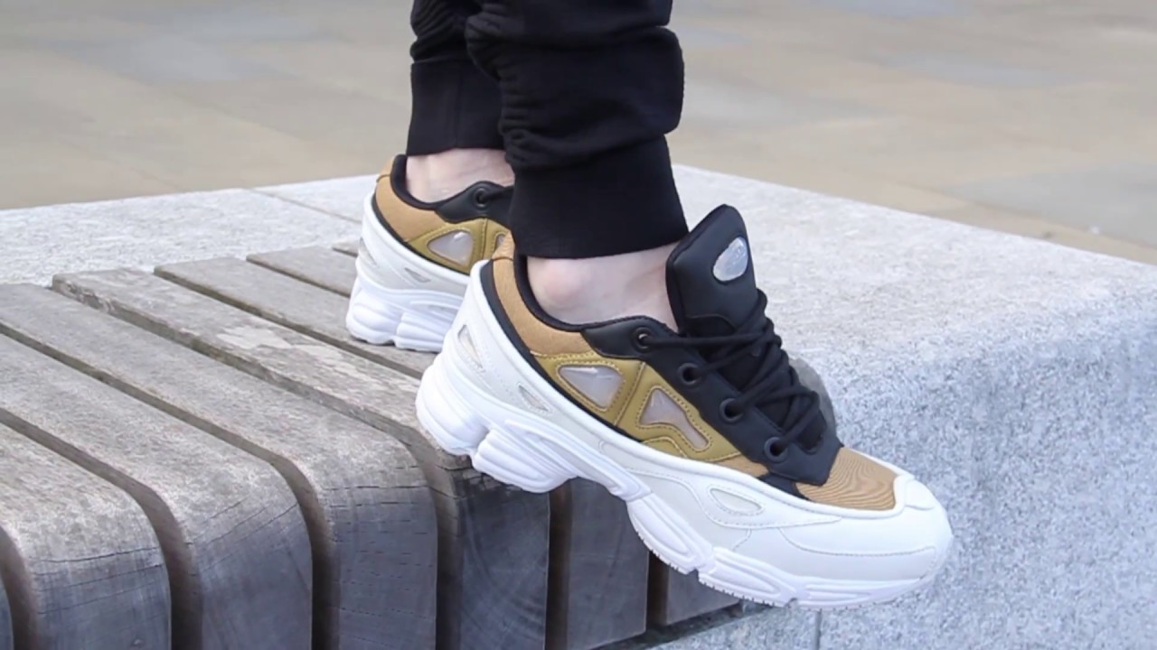 best cheap e15cb 5364a adidas Raf Simons Ozweego III On-Foot Feature